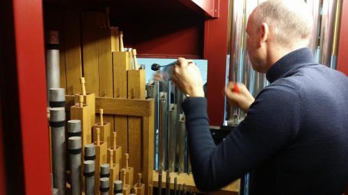 Orgel aanpassingen